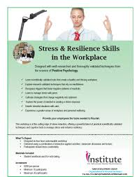 stress and resilience skills in the workplace team development 732 596 7754 click to view course information sheet organizational development