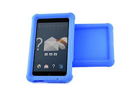 """Fire HD 6"""" - """"Shock Proof"""", <b>Heavy Duty Silicone Case</b> with """"Sound ..."""