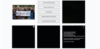 Blackout Tuesday: the <b>black</b> square is a symbol of online activism for ...
