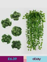 Home, Furniture & DIY Green <b>Fake Bamboo Leaf Artificial</b> Foliage ...