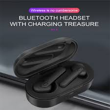 TWS <b>DT</b>-<b>5</b> Wireless Earphones Bluetooth 5.0 <b>Noise</b> Cancelling ...