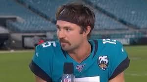 "Gardner Minshew on Mustache After Jags Win, ""Screw y"