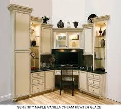 kitchen cabinets home office transitional: armstrong cabinets traditional home office detroit by hr