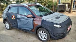 new car launches march 2015Hyundai Elite i20 crossover spied again launch in March 2015