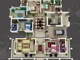 images about D House Plans  amp  Floor Plans on Pinterest    Big house   colour coded rooms   bed bath