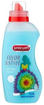 <b>Гель</b> для стирки Unicum для <b>цветного</b> белья — купить по ...