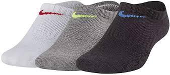 Nike <b>Kid's Performance</b> Cushioned <b>No</b>-<b>Show</b> Everyday Cushion Sock