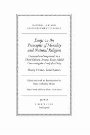 essays on the principles of morality and natural religion   online   tp