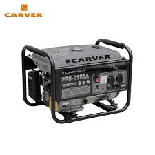 petrol power generator carver ppg 2500a power home appliances backup source during outages benzine stations