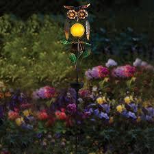 light decor garden solar powered white yard  gallery solar powered owl solar powered owl  gallery solar powered ow