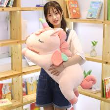 <b>1pc</b> 40 <b>80cm Kawaii</b> Unicorn Plush Toys Giant Stuffed Animal Horse ...