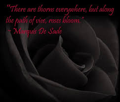Marquis de Sade quote | My outlook on, and approach to, life and ... via Relatably.com