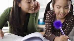 You can help your child with homework without hovering or doing it for them