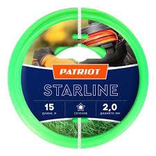 <b>Леска для триммеров PATRIOT</b> Starline d=2мм L=15м — купить в ...