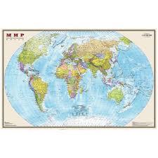 <b>Карта</b> &quot;Мир&quot; <b>политическая DMB</b>, 1:20млн., 1560 ...