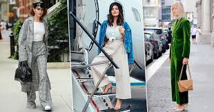 Главный тренд осени: как носить <b>широкие брюки</b>, чтобы не ...