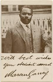 「he black nationalist ideals of Marcus Garvey.」の画像検索結果