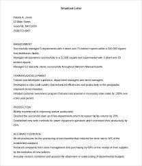 printable broadcast cover letter template free download free template cover letter