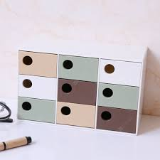 Nine Grid Drawer Desktop Storage Jewelry Box Sale, Price ...