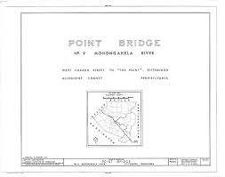 point bridge 1927 1970 bridges and tunnels of allegheny county photo of bridge