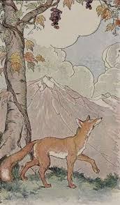 Der Fuchs und die Trauben