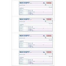 tops money rent receipt book carbonless ct click to zoom