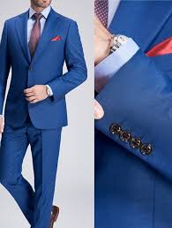 <b>Royal Blue Custom</b> Suit – Italian Collection – Mr <b>Custom Made</b>