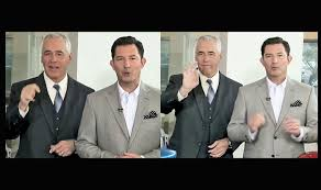 best practices dealership s multilingual staff caters to hearing dealer john fox is accompanied in tv commercials by general manager rick hodges left who uses american sign language to interpret