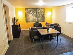 design a basement apartment bright basement work space decorating