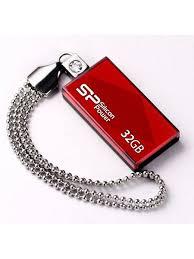 <b>Флеш Диск</b> 32Gb Touch 810, красный <b>SILICON POWER</b> 5522364 в ...