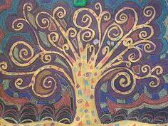 Image result for Gustav Klimt tree of life kids