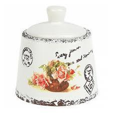 <b>Сахарница ENS Group</b> Персиковая роза, 200 мл (1750158 ...