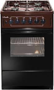 Газовая плита <b>ЛЫСЬВА ЭГ 401</b>-<b>2у</b> духовка, коричневый, отзывы ...