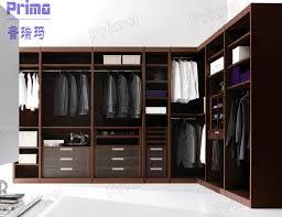 bedroom with wardrobes design