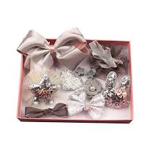 prelikes <b>10 Pcs</b> Girl Bowknot Flower <b>Hair</b> Clip Multi-Style Bow ...