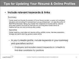 how to write a great profile statement for your resume  linkedin    sample