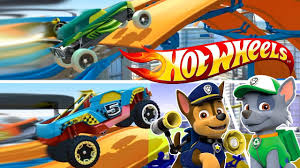 Hot Wheels / Хот Вилс. <b>ЩЕНЯЧИЙ ПАТРУЛЬ</b> Гонщик против ...