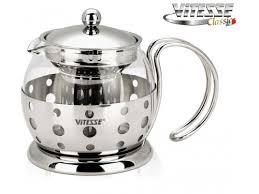 Купить <b>чайник заварочный Vitesse</b> VS-8318 (0,7 л) по цене от ...