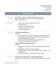 security guard professional resume resume templates volumetrics co security officer resume tips templates and samples armed security guard resume sample casino security officer sample