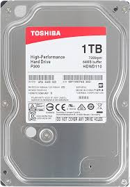 Купить <b>Жесткий диск TOSHIBA</b> P300 HDWD110UZSVA в ...