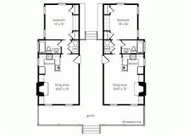Small House Floor Plan Ideas   Single Story Modern House Design        Small House Floor Plan Ideas   Southern Dog Trot House Plans