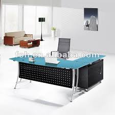 blue glass top modern office furniture office table fohj 8058 buy blue glass top office tableblack glass top modern office deskmodern glass top office blue glass top modern office