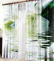 3D-шторы (35 фото): модели с объемным рисунком, варианты с ...