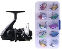 ZD-DZ <b>SetJL200</b> Box0149 <b>Fishing Spinning Wheel</b> Set Wheel 3BB ...