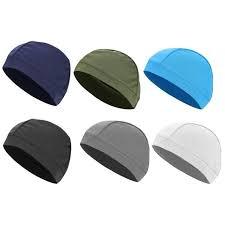 Men Adults Unisex Soft Cycling Caps Under Helmet Liner Summer ...