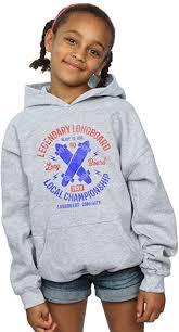 Drewbacca Girls <b>Legendary Longboard</b> Hoodie Clothing Fashion ...