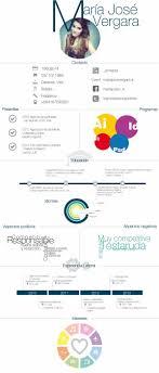 1000 ideas about curriculum vitae curriculum cv infografia resumen curricular by maría jose vergara via behance