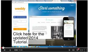 video tutorials to help you create a classroom website using 2 introduction to weebly how to create a website