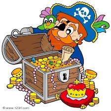 Resultado de imagen de tesoro pirata