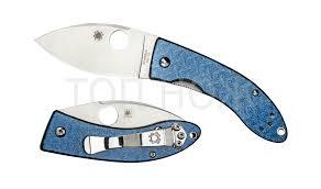 Spyderco <b>Lil</b>' <b>Lum</b> Blue Nishijin - <b>нож складной</b>